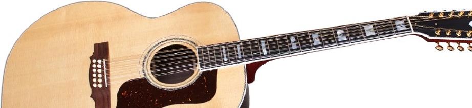 Guitares acoustiques 12 cordes