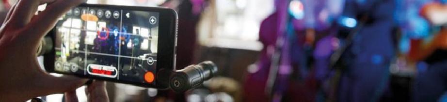 Microphones smartphones