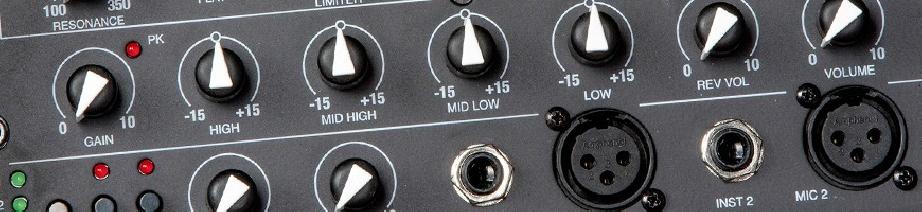 Amplification guitares et voix